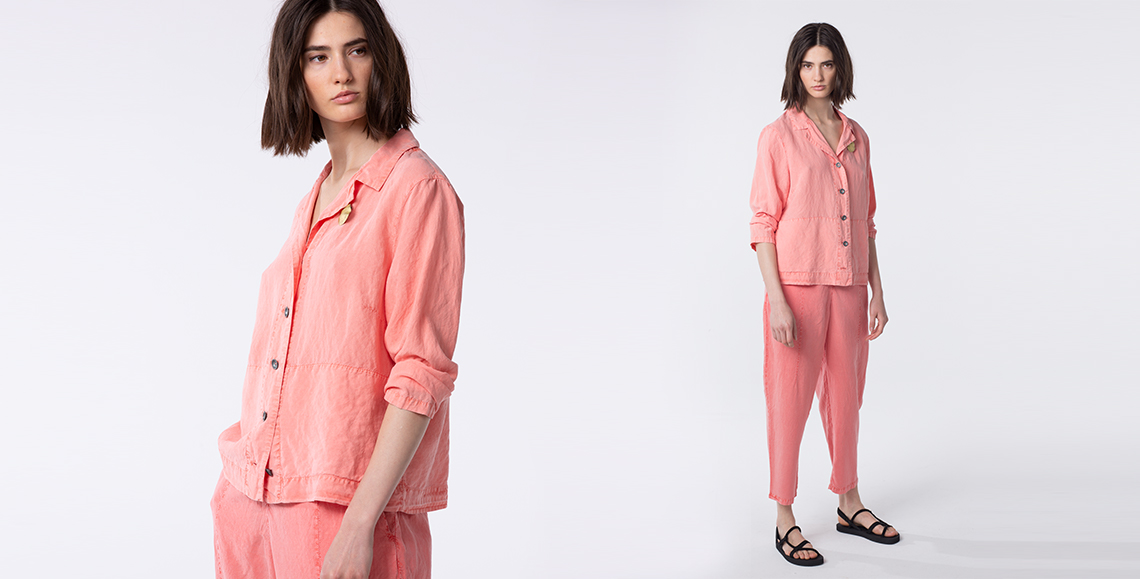 blouse Checo 004 coral