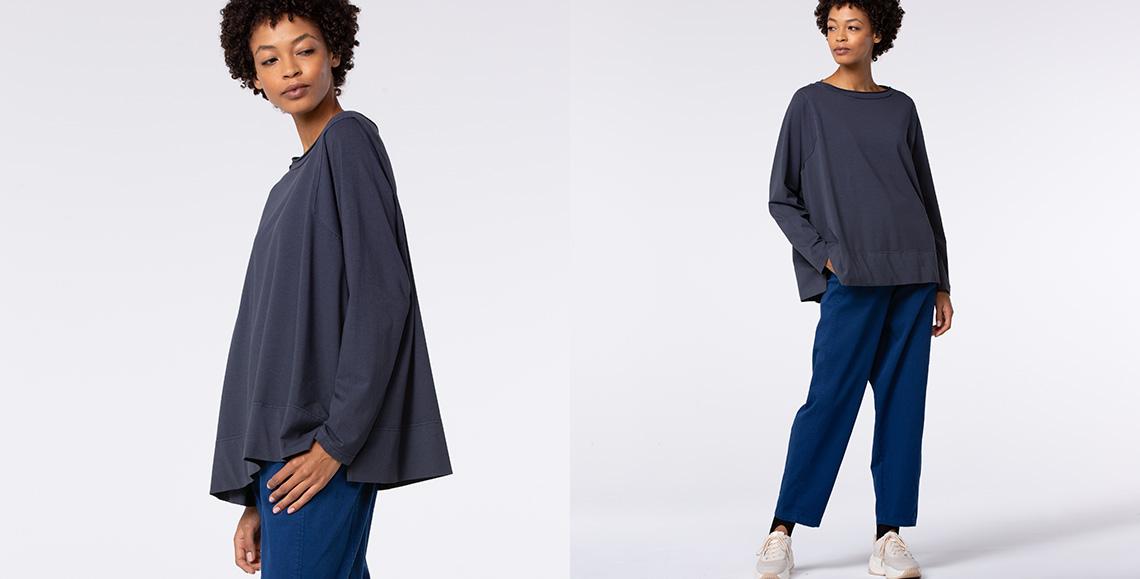 shirt Fatou 901 grey blue