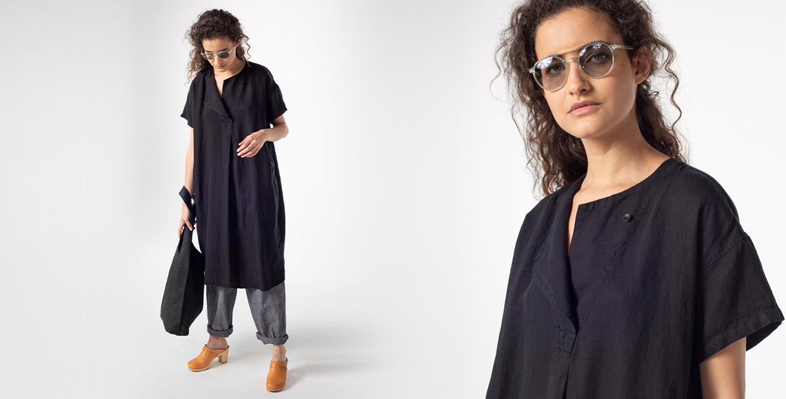 Dress Marlitt 133 BLACK