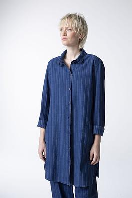 Blouse Blinge / 100% Striped Cotton Denim