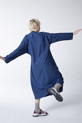 Dress Normae / 100% Striped Cotton Denim