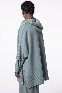 Poncho Lamia / Wool-Viscose-Cashmere Blend