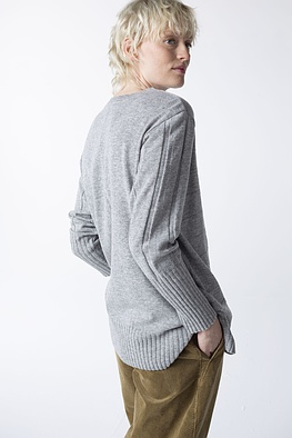 Pullover Dazza / Wool-Viscose Blend with Cashmere