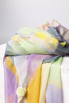 Schal 101 / Modal-Cotton