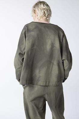 Shirt Esane / Tie-Dye Cotton-Sweat
