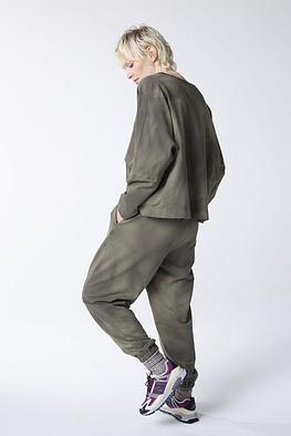 Trousers Gaiwan / Tie-Dye Cotton-Sweat