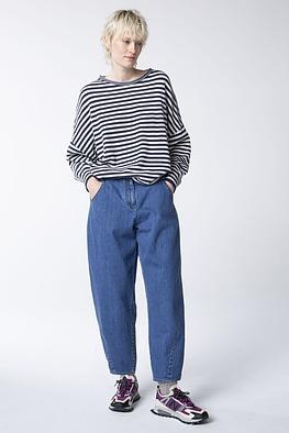 Trousers Kuchia / Elastic Cotton Denim