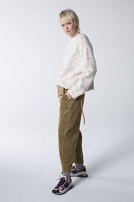 Trousers Ryon / Elastic Cotton Corduroy