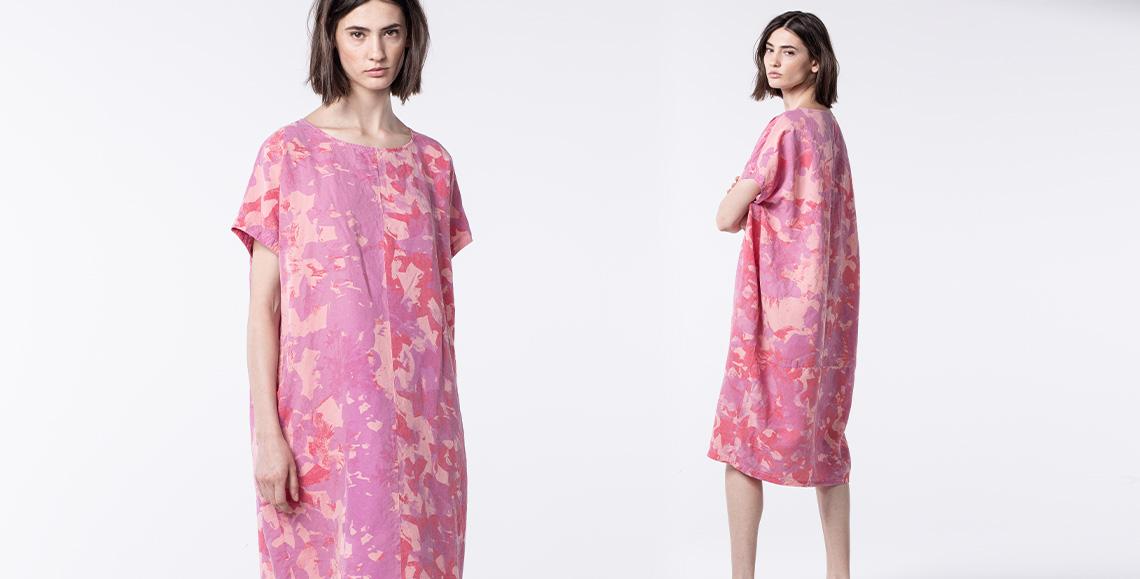 dress Flore 017 dahlia
